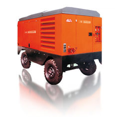China Large Capacity Portable Rotary Screw Air Compressor 132KW 17m³/Min Low Oil Content supplier