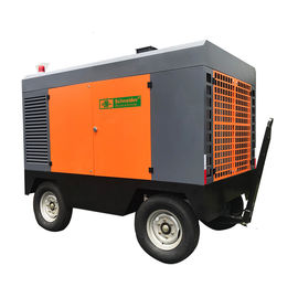 China Strong Adaptability Portable Screw Air Compressor , Portable Diesel Air Compressor 13 Bar supplier