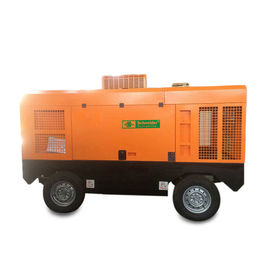 China Mining Diesel Engine Driven Portable Air Compressor 4300mm * 2000mm * 2800mm supplier