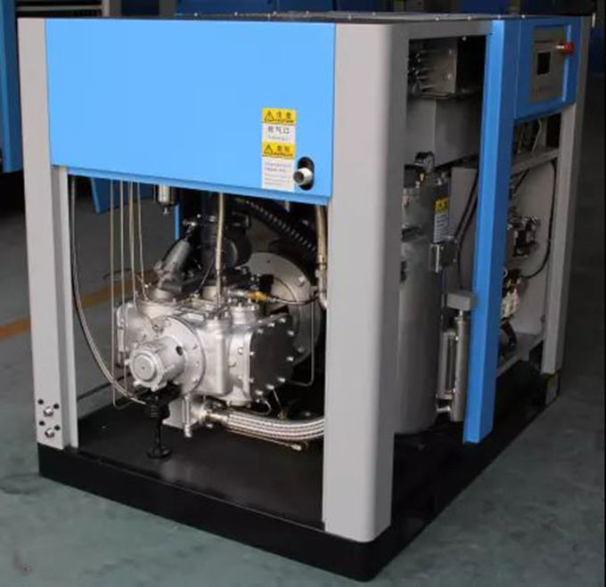 Stable Oil Free Screw Air Compressor , 65KW Industrial Oilless Air Compressor