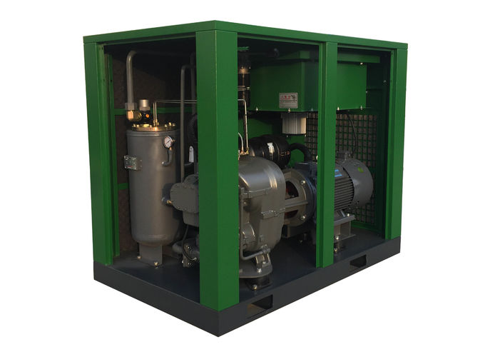 Green VFD Air Compressor 110 kW One - In - One Axle Structure Smooth Operation